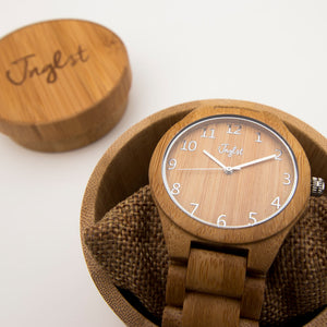 Bamboo Jnglst Watch with case