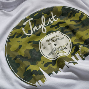 White Junglist London T-Shirt detail