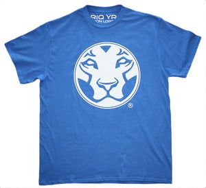 Yardrock Lion Blue T-Shirt
