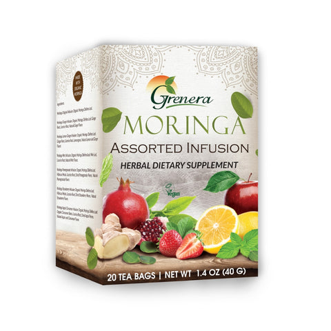Moringa Tea Assorted Infusion (20 tea bags)