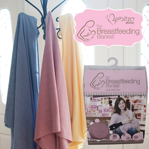 Bebitza Breastfeeding Blanket Textured Knit Singapore