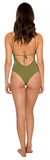 Apia One Piece // Olive Me Loves Olive You - Cabana Anna Swimwear  - 2