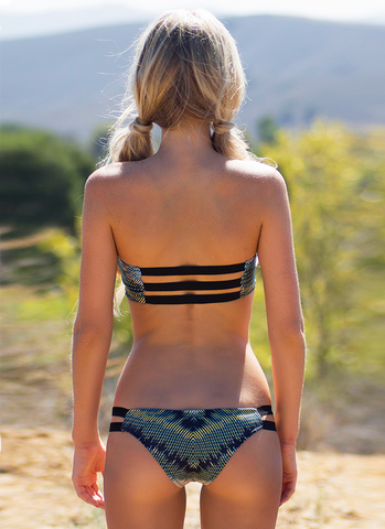 Baja Cheekies // Wild - Cabana Anna Swimwear  - 2