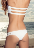Baja Cheekies // Pearl - Cabana Anna Swimwear  - 1