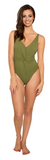 Apia One Piece // Olive Me Loves Olive You - Cabana Anna Swimwear  - 1