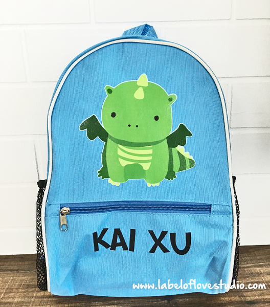 2015 Zodiac Animal Personalized Backpack