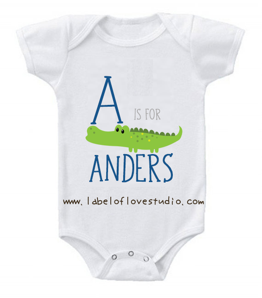 A is for ... Alphabet Romper/ Tee