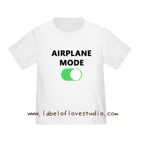 Airplane Mode Vacation Romper/ Tee