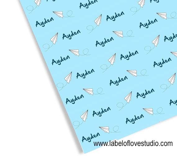 Paper Airplane Swaddle