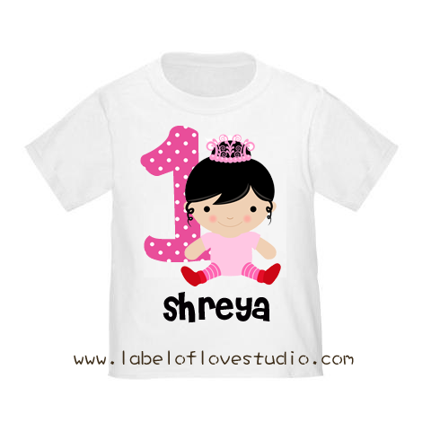 Birthday Baby Princess Tee