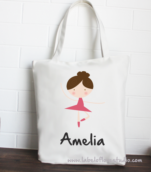 Tote: Graceful Ballerina