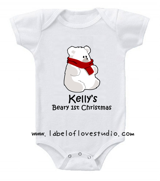 Beary Sweet Christmas Romper/ Tee