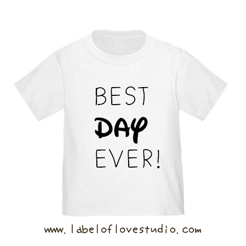 Best Day Ever Vacation  Romper/ Tee