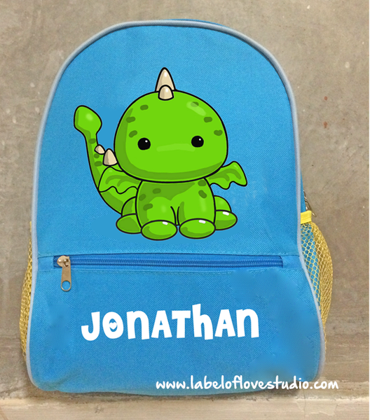 Personalized Backpack Big Character (design your own)