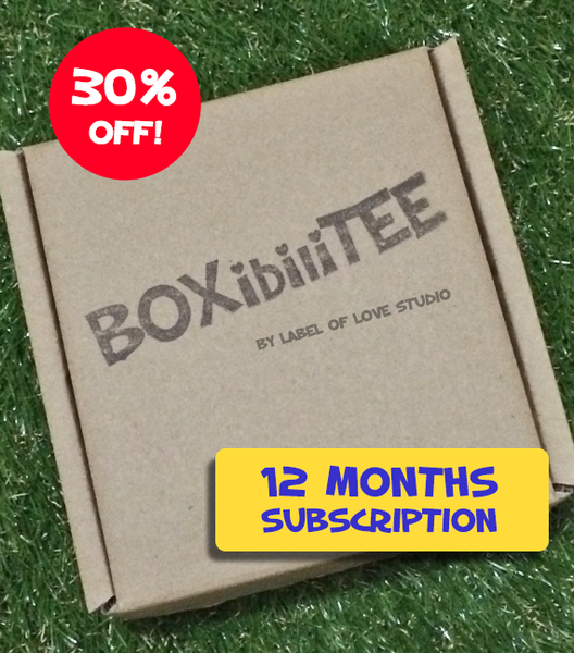 BOXibiliTEE Subscription - 12 month