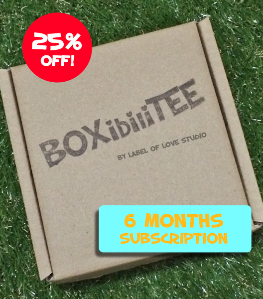 BOXibiliTEE Subscription - 6 month