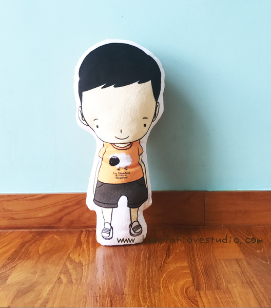 Lil Boy Mini Me Plush Toy