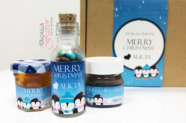 Yummy Christmas Bottles Gift Set