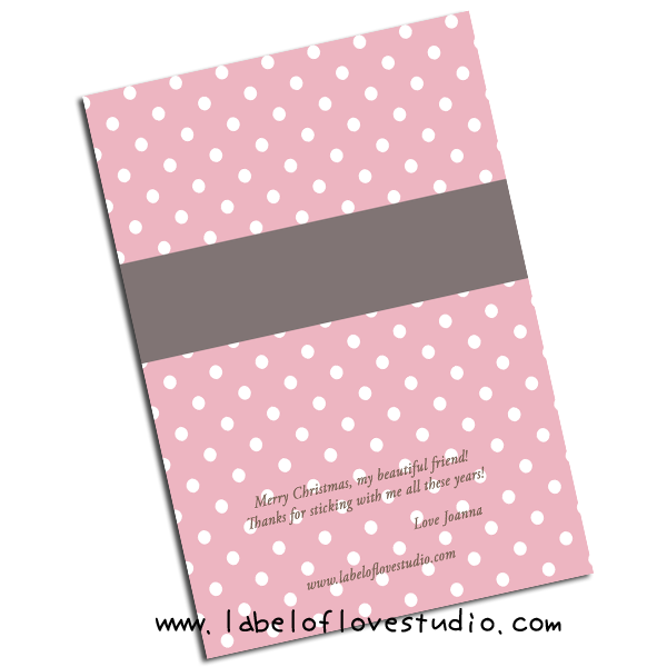 Sweet Polka Dots Personalized Notebooks