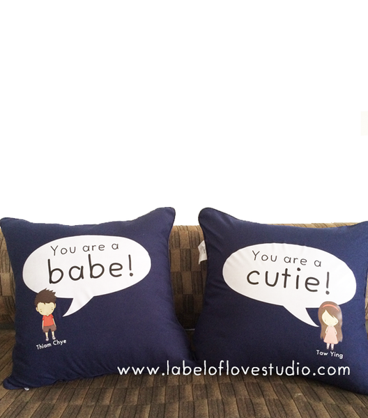 Speech Bubble Cushion