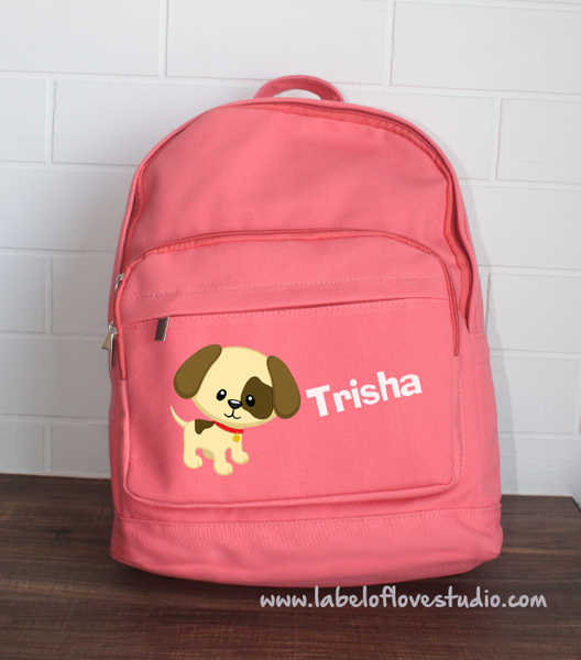 Big Backpack: Cute Dog