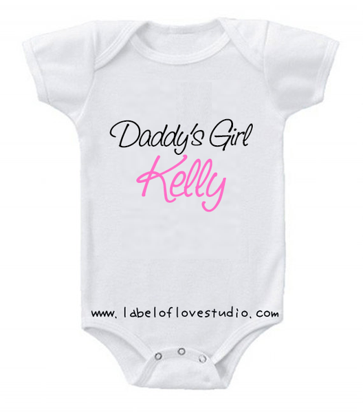 Daddy's Girl Romper/ Tee