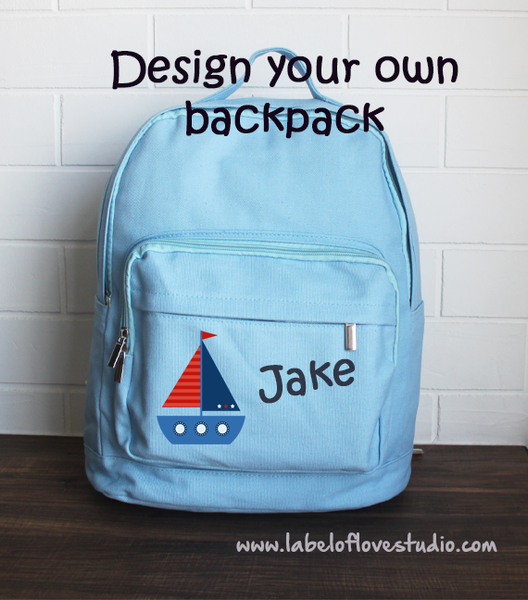 Big Backpack: Design your own