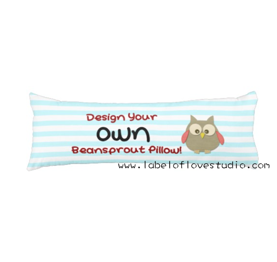 Design your own Beansprout Pillow