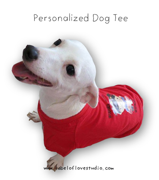 Personalized Dog Tee