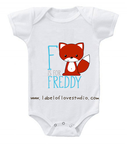 F is for ... Alphabet Romper/ Tee