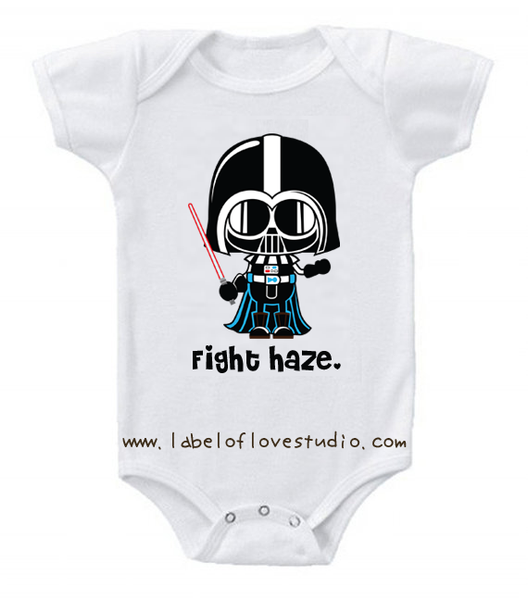 Haze Fighter Romper/ Tee