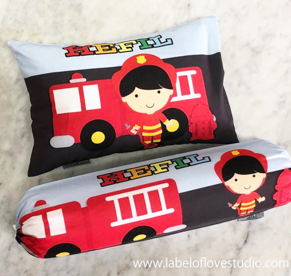 Brave Fireman Bedding Set