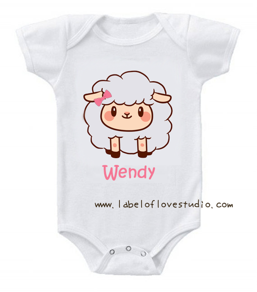 Sheep Romper/tee for Grace's Group
