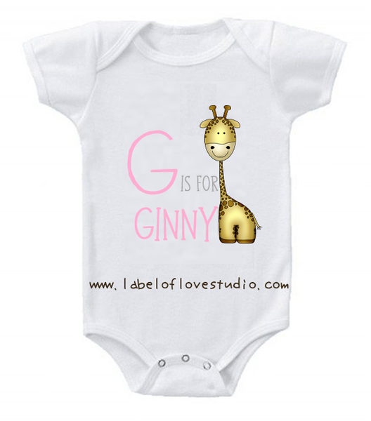 G is for ... Alphabet Romper/ Tee
