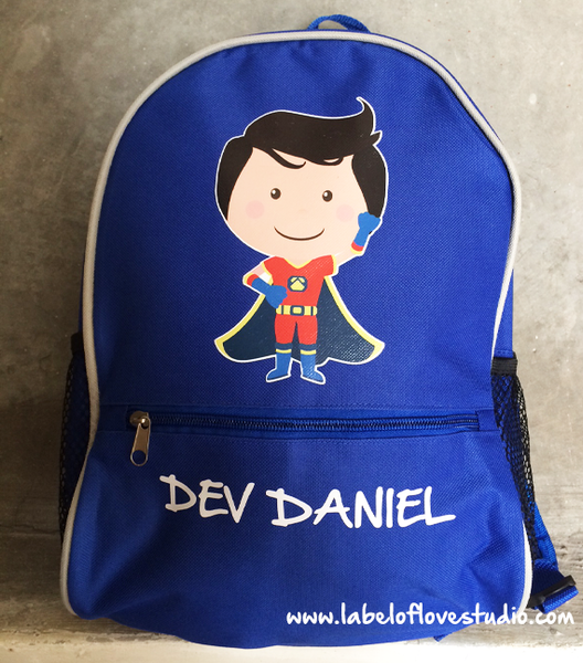 Personalized Hans the Hero Backpack