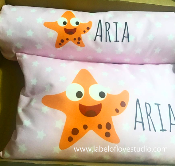 Happy Starfish Bedding Set