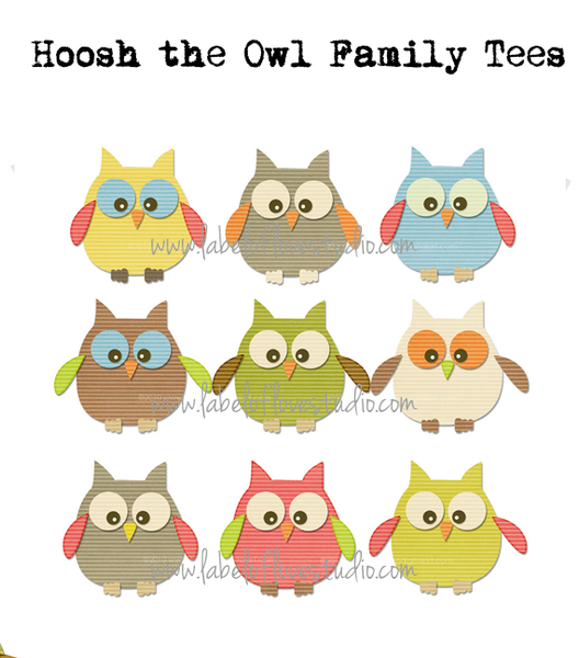 Hoosh the Owl Beansprout Pillow