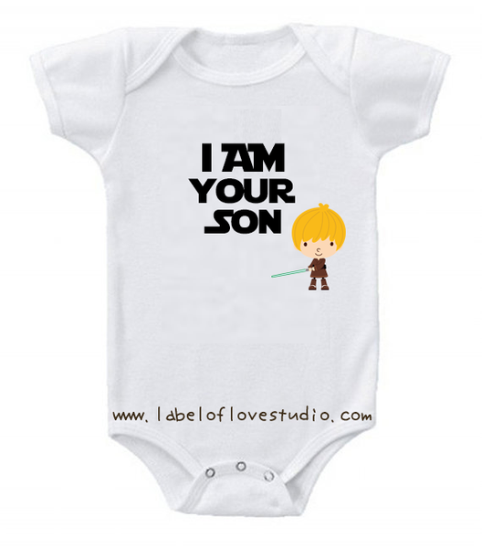 I am your son romper/ tee