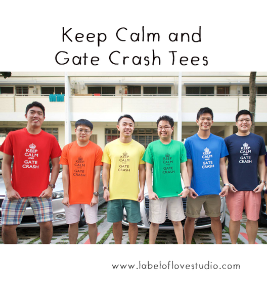 Keep Calm and Gate Crash