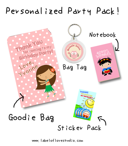 Personalized Party Pack
