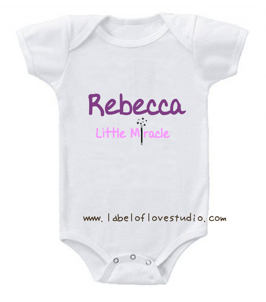 Little Miracle (Girl) Romper/ Tee
