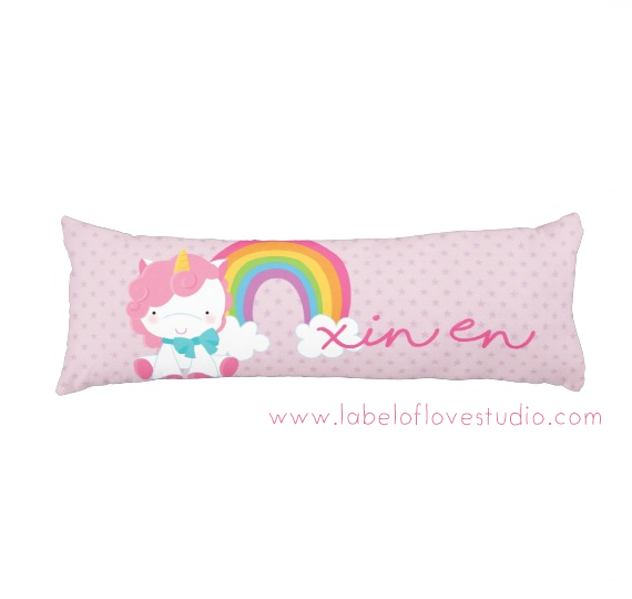 Magical Unicorn Beansprout Pillow