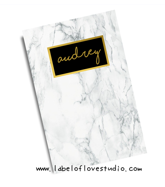 Marble Love Notebook