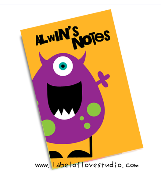 Lil' Monster Notebook