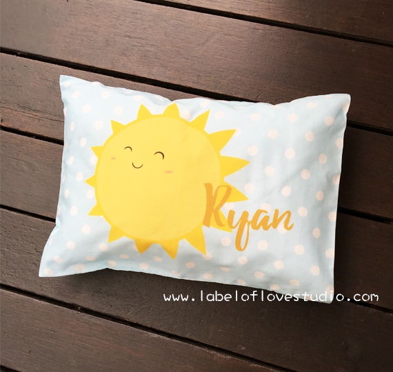 Mr Sunshine Personalized Pillow