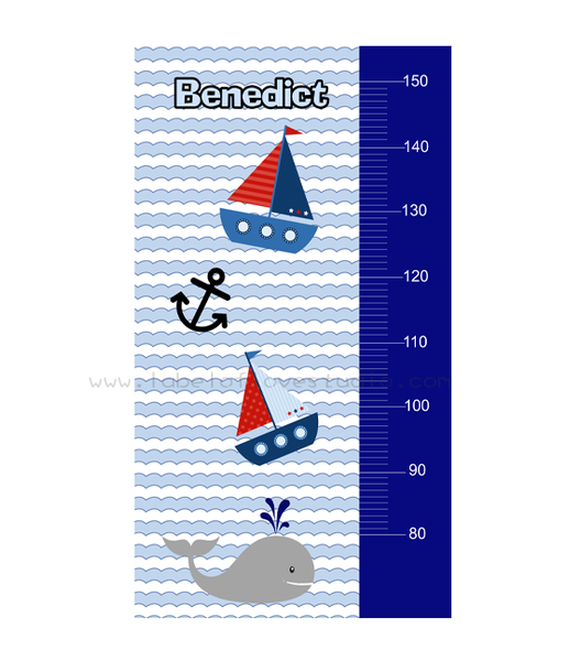 Nautical Height Chart