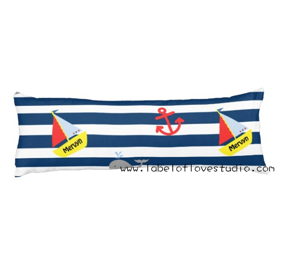 Nautical Beansprout Pillow