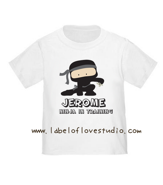 Ninja in Training Romper/ Tee