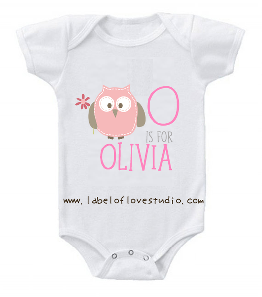 O is for ... Alphabet Romper/ Tee