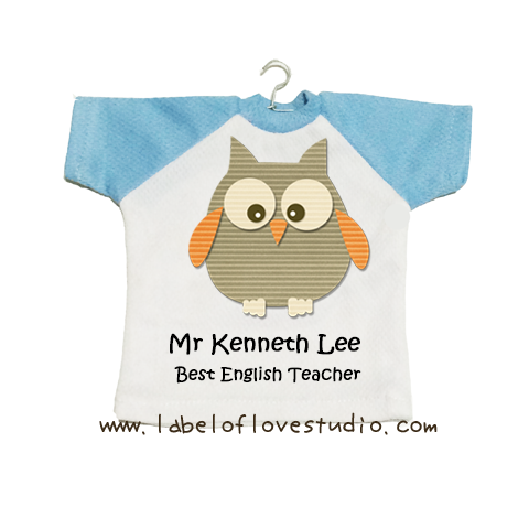 Owl Best Teacher Mini Tee